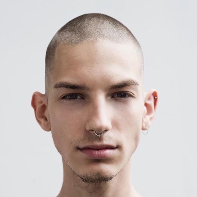 мужские стрижки для вытянутой головы фото